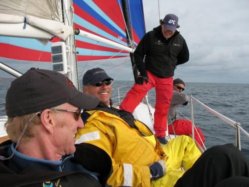 crew shares a joke on the captain #2