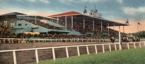 Club House and Grand Stand Santa Anita, Los Angeles Turf Club Arcadia