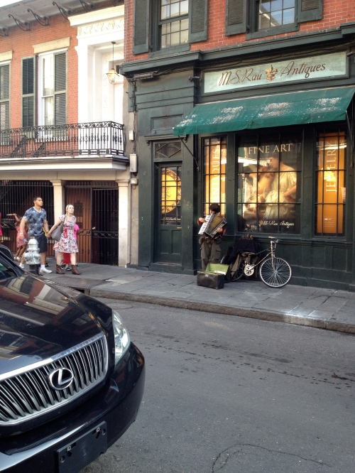 There's music on just about every block of the Vieux Carre.