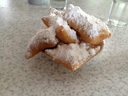 And, of course, we had to have our beignets at Cafe Du Monde.