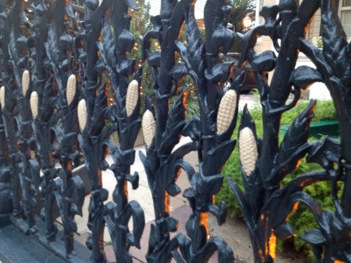 The cornstalk gate.