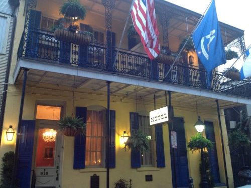 The Andrew Jackson Hotel -- where Victoria and I stayed in 1985.