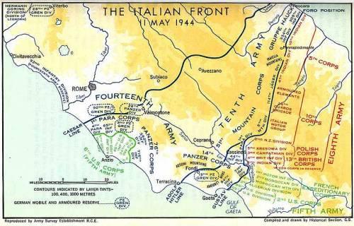 Cassino-map