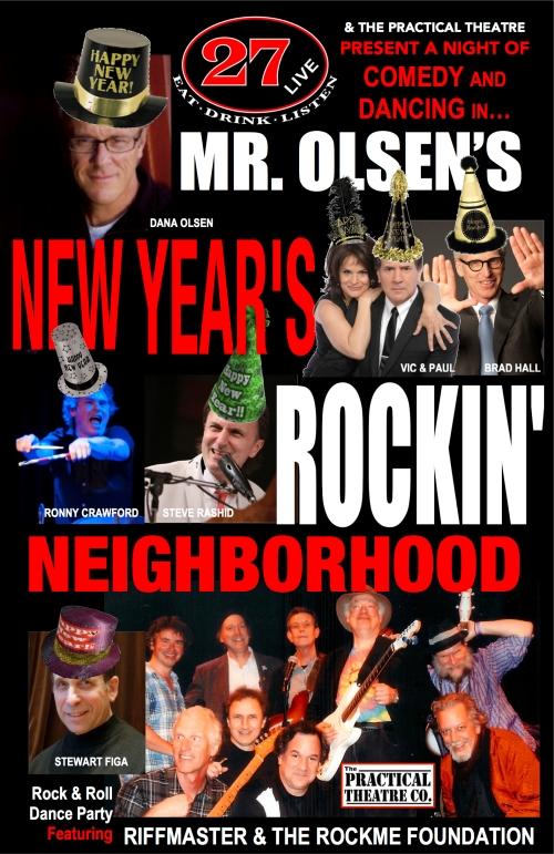 Mr Olsen Poster 2