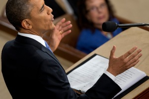 U.S. President Barack Obama Delivers State Of The Union Address