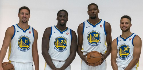 USP NBA: GOLDEN STATE WARRIORS-MEDIA DAY S BKN USA CA